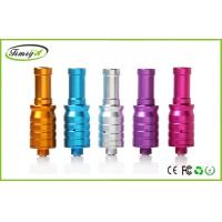 China Dry Herb Aluminum mini RDA Rebuildable Atomizer With 510 Ego Battery / Drip Tip on sale