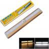 China Motion Sensor night light PIR motion Sensor Lamp Wardrobe Cabinet led light wholesale