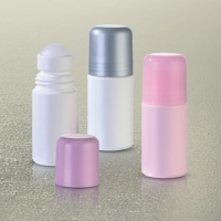 China PP Frosted Cosmetic Reusable Roll On Deodorant Bottle MSDS wholesale