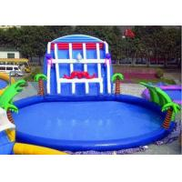 Inflatable swimming pool water slide quality inflatable - Above ground swimming pool rental ...