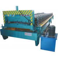 China Thickness 0.3 - 0.7mm Roofing Sheet Making Machine Working Speed 0 - 20 M / Min wholesale