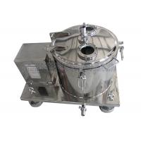 China Low Temperature Jacketed Alcohol Solution Centrifuge Equipment Long Life wholesale
