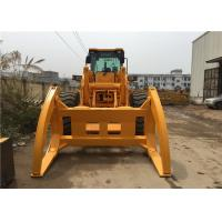 Buy cheap 5 Ton Zl50 Front End Wheel Loader 162KW With Log Grapple And Quick Hitch from wholesalers