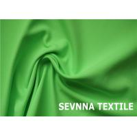 Quality Dyeable Spandex Nylon Stocking Fabric , Green Waterproof Nylon Fabric for sale