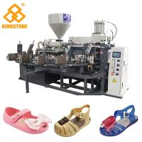 Buy cheap Crystal Shoes Slipper Making Machine , PVC kids Jelly Shoe sandal Injection from wholesalers