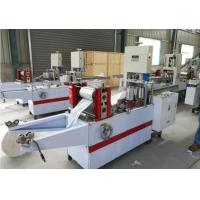Quality Factory Supply Automatic Pocket Paper Serviette Tissue Napkin Making Machine for sale