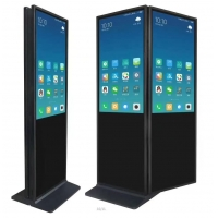 """China 55"""" 400cd/m² 1920x1080 Interactive Lcd Touch Kiosk wholesale"""