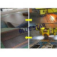 China Decorative Perforated Sheet Metal Panels , Perforated Copper Sheets Corrosive Resistance on sale