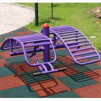 China Colorful Playground Rubber Mats / Rubber Gym Floor Mats /Outdoor Rubber Tiles 50*50*5CM wholesale
