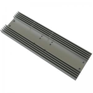 China Rectangle Radiator Aluminium Heat Sink Profiles For Consumer Electronics wholesale