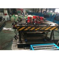 China 60mm Roller Axis Metal Roll Forming Machine Chain Driven 18 Roller Stations wholesale