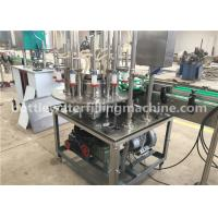 China Canned Juice / Vodka / Milk Beverage Filling Machine For Small Beverage Canning Line on sale