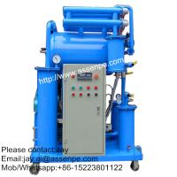 China High vacuum Insulating Oil Cleaning System,Oil Purifier machine on sale