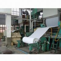 China Tissue Paper Machine with 1 to 10T/Day Capacity and Waste Paper Raw Material on sale