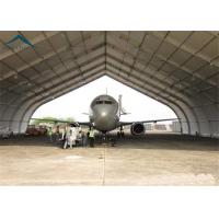 China High Strength Rustproof Air Plane Hanger With Steel Space Truss Structure wholesale