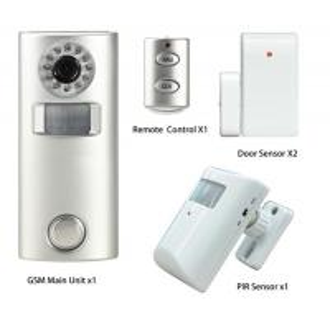 China Home Security Burglar Alarm GSM Alarm System on sale