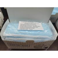 China Adult Civilian 3 Ply Disposable Face Mask , Disposable Pollution Mask Easy To Use wholesale