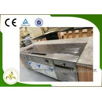 China Multifunctional Teppanyki Grill Table Stainless Steel Electromagneitc Soup BBQ wholesale