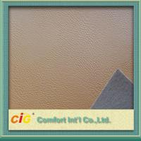 China Artificial Waterproof 0.8MM PVC Synthetic Leather For Sofa / luggage wholesale