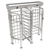 China ZKTECO FHT2300D high quality 304 stainless steel full height turnstile security system wholesale