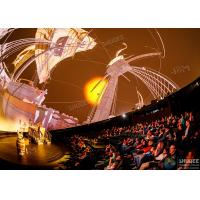 China Stimulate Immersive Experience 4D Dome Movie Theater For Shopping Mall wholesale