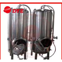 China Common 7BBL Steam Bright Beer Tanks Industrial Tri-Clamp Connection wholesale