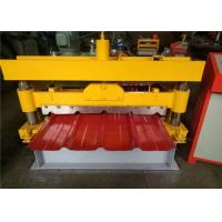 Metal Sheet IBR Roof Panel Roll Forming Machine For Construction Buildings