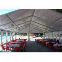 China Hard Pressed Circus Play Tent White PVC Cover Church Windows For Beach Party wholesale