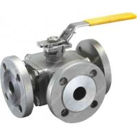 China 8 Self Relieving Seat Floating Ball Valve Stainless Steel Body 800lbs wholesale