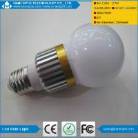 China Solar led globe bulb light 3W ,240-270LM,Design dimmable available wholesale