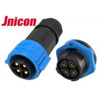 China Male Plug Female Socket M25 Circular Power Connectors 4 Pin 20A 500V Waterproof wholesale