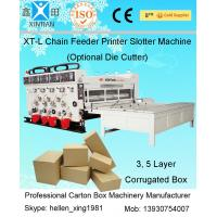 China High Speed Packaging Paper Carton Making Machine Of Cardboard , PLC Control wholesale