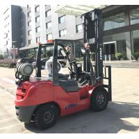 Buy cheap LTMA LPG Gas Forklift Truck 3.5 Ton , Full Free 2 Stage Mast Forklift Machine from wholesalers