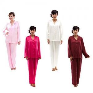 Buy cheap Woman's Silk Classic Pajama Set S010-Sleepwear from wholesalers