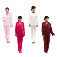 China Woman's Silk Classic Pajama Set S010-Sleepwear wholesale
