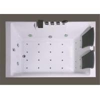 China Square Freestanding Whirlpool Bathtubs , Whirlpool Jet Tubs For Small Bathrooms wholesale