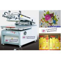 China LC-8012G/6090G flat Microcomputer High precision screen printing machine paper,plastic, glass, ceramics, metal, textile wholesale