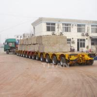 China 300 ton 400 tons payload modular low bed semi trailer for transport transformer high quality for sale on sale