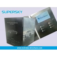China 2G Built - In Screen LCD Video Greeting Card For Graduations , Birthday Parties wholesale