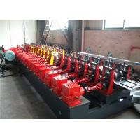 China 41*62 C Channel Roll Forming Machine , 48.2 KW Purlin Forming Machine Durable wholesale