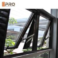 China Dust Resistance Aluminum Top Hung Window For House Projects Customized Size wholesale