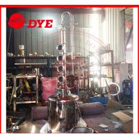 China 100L Home Distilling Equipment , Copper Moonshine Still For Alcohol Making wholesale