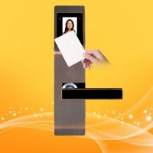China Zinc Alloy Hotel Swipe Card Door Locks , Electronic Card Door Lock System wholesale