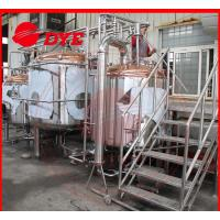 China 10BBL Industrial Beer Brewing Equipment For Bar , Craft Distillery Equipment wholesale