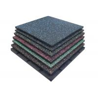 China Outdoor Playground / Indoor Safety Rubber Floor Mats Multi Colors Optional on sale