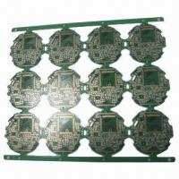 China 4-layered PCB for Life-support Solutions, 0.76mm Finished Thickness wholesale