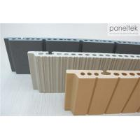 China Textured Terracotta Panel System 300 - 1500mm Length With Earthquake Resistance wholesale