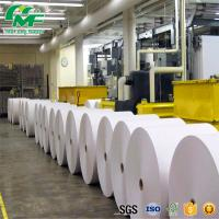 China Dust Free Jumbo Thermal Paper Bio - Degradable High Rubbing Resistance Nontoxic wholesale