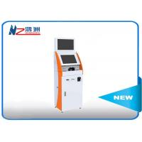 Buy cheap 32 Inch Floor Stand Self Ordering Kiosk With Bill Acceptor / Self Service Restaurant Kiosk from wholesalers