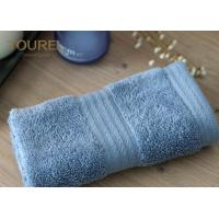 China Simple face  towel with platinum dobby pattern fabrication size 32cm by 32cm wholesale